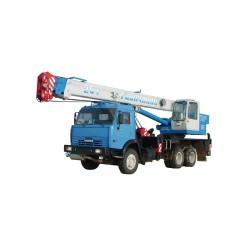 Автокран 25 тонн, Галичанин