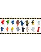 Перчатки для рабочих из ПВХ, Нитриловый облив оптом в Самаре